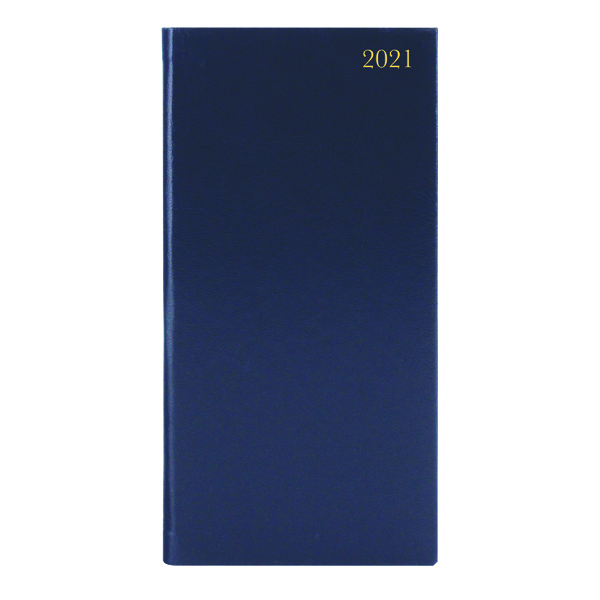 PORTRAIT DIARY WTV SLIM BLUE 2021