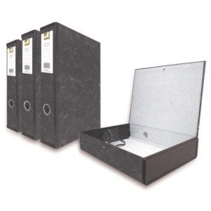 Q CONNECT BOXFILE FOOLSCAP CLOUD GREY