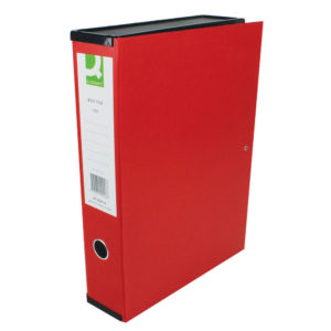 Q CONNECT BOXFILE RED