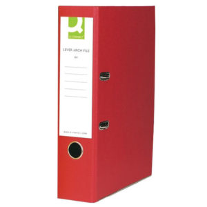 Q CONNECT LACH FILE RED KF20031X