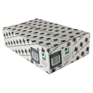 Q CONN ENV S/S DL LOW WDW 90G WHT PK1000
