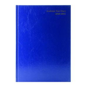 ACADEMIC DIARY WTV A4 BLUE 2020-21