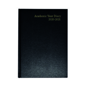 ACADEMIC DIARY WTV A5 BLACK 2020-21