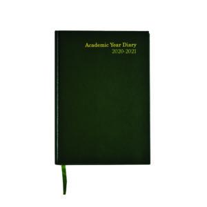 ACADEMIC DIARY WTV A5 GREEN 2020-21