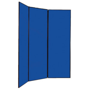 MULTI-FOLD JUMBO 4-DISPLAY SCREEN BLUE