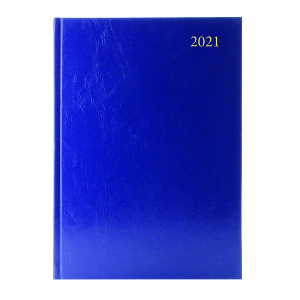 DESK DIARY DPP APPTS A4 BLUE 2021