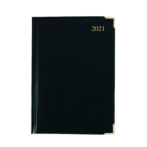 EXECUTIVE DIARY DPP A4 BLACK 2021