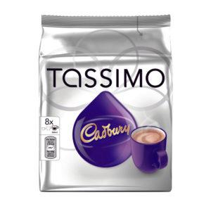 TASSIMO CADBURY HOT CHOCOLATE PK5X8