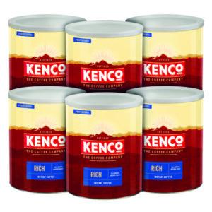 KENCO RICH COFFEE CASE DEAL 750G P6