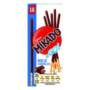 MIKADO MILK STICKS BISCUIT 39G PK24