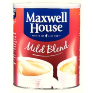 MAXWELL HOUSE POWDER 750G TIN