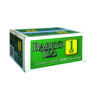BARRYS GREEN LABEL TEA BAGS PK600