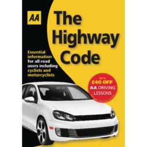 AA HIGHWAY CODE 9780749552572 99871