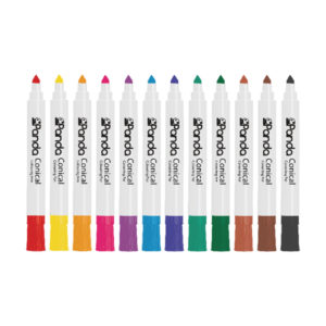 GRAFFICO CONICAL MARKER ASSORTED PK144