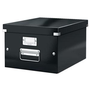 LEITZ CLICK STORE MED STORAGE BOX BLACK