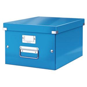 LEITZ CLICK STORE MED STORAGE BOX BLUE