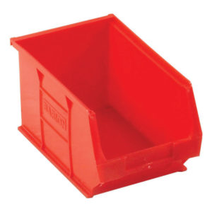 TC3 PARTS CONTAINER SML RED 3.4L PK10
