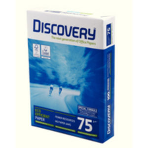 DISCOVERY A4 75GSM WHITE PAPER PK2500