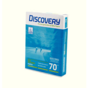 DISCOVERY A4 70GSM WHITE PAPER PK500