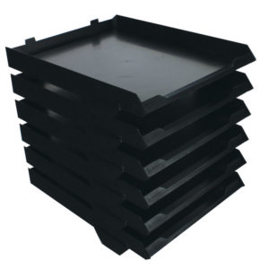 AVERY PAPERSTACK 6TRAY BLACK 5336