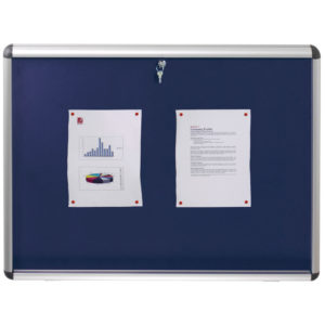 NOBO VISUAL INSERT BOARD BLUE A1 965X665