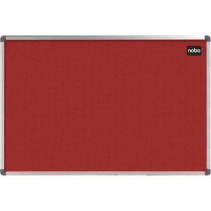 NOBO ELIPSE NOTICE BRD FELT RED 1200X900