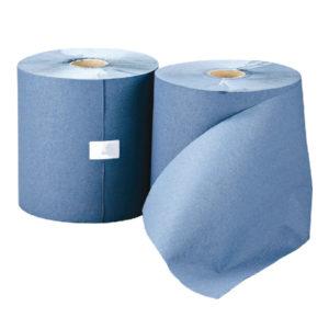 LEONARDO HAND TOWEL ROLL BLUE PK6