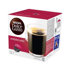 NESCAFE DOLCE GUSTO CAFFE AMERICANO 3X16