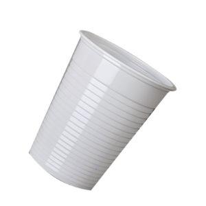 MYCAFE PLASTIC CUPS 7OZ WHITE P2000