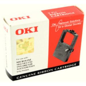 OKI FABRIC CASS MICROLINE BLACK 192