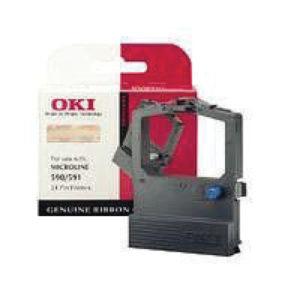 OKI FABRIC RIBBON BLACK 520/521