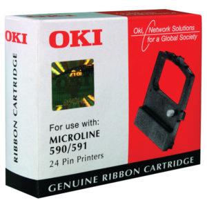 OKI FABRIC RIBBON BLACK ML590/591