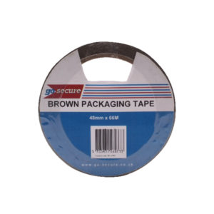 GOSECURE PACKAGING TAPE 50MMX66M PK6 GLD