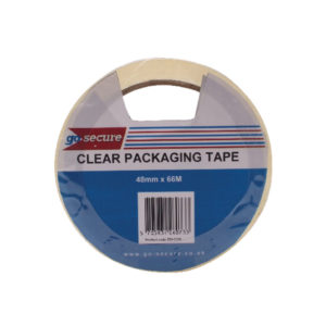 GOSECURE PACKAGING TAPE CLR 50MMX66M PK6