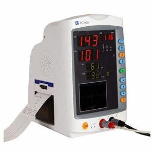 Vital Signs Monitor (Nellcor OxiMax) SpO2, PR, NIBP & Temp - Adult Clip sensor