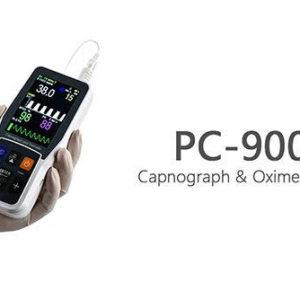 PC-900B Hand Held Capnograph &Oximeter (Nellcor) - Adult Clip Sensor