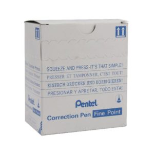 PENTEL MICRO CORRECT FLUID ZL31-W