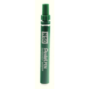 PENTEL MARKER BULLET TIP GREEN N50-D