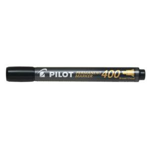PILOT 400 PERM MARKER CHISEL BLACK