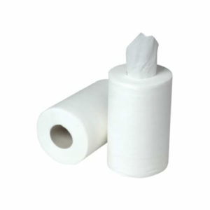 Mini Centrefeed Rolls, 2 Ply- 60m x 12 - White