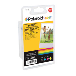POLAROID EPSON 16XL REMAN INK KCMY PK4