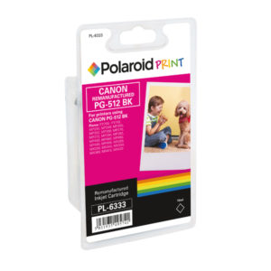 POLAROID CANON PG 512 REMAN HY INK BLACK