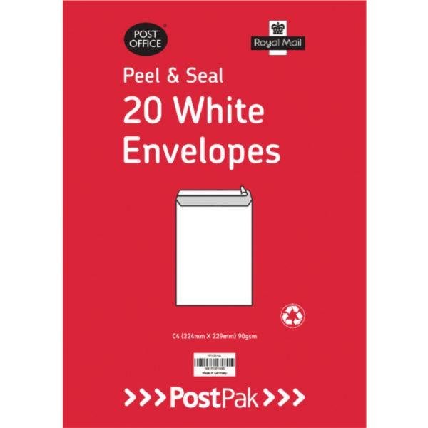 C4 PEELSEAL WHITE 90G X20 PK10 101-0221