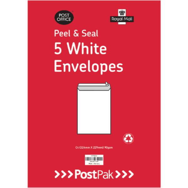 C4 PEELSEAL WHITE 90G X5 PK40 101-0212