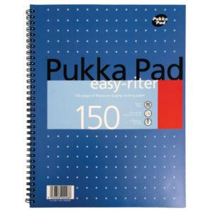 PUKKA EASYRITER METALLIC A4 WRIT PAD 80G