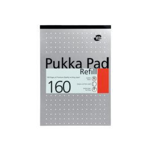 PUKKA REFILL PAD 80SH RLD MRGN PNCH ASS