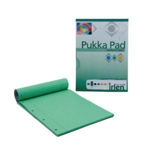 PUKKA A4 REFILL PAD GREEN