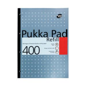 PUKKA PAD A4 REFILL 400SHEET ASSORTED