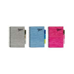PUKKA UNIPAD PROJECT BOOK A5 200PGS PK12