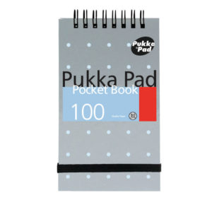 PUKKA A7 MET PCKT NOTE/B 100 PAGES 6254